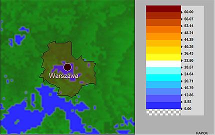 Geoforum Imgw Wprowadza Mapy Radarowe Wybranych Miast Polski