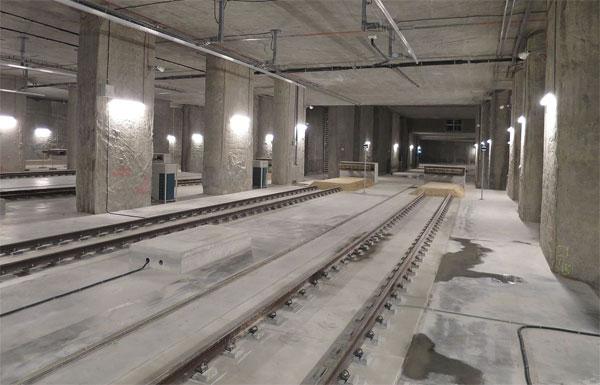 Początek łódzkiego tunelu średnicowego
