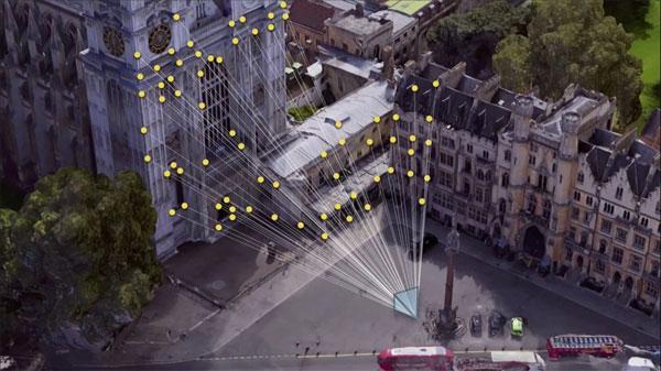 Google Visual Positioning System (VPS)