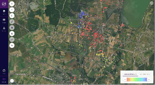 Usługa satelitarnego monitoringu Sille