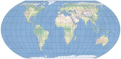 Odwzorowanie Equal Earth