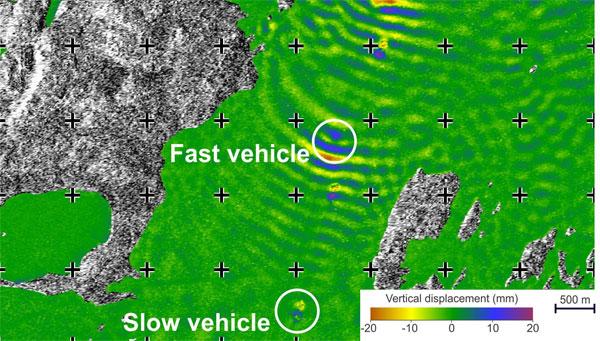 Badanie deformacji lodowych autostrad z wykorzystaniem satelitarnej interferometrii radarowej