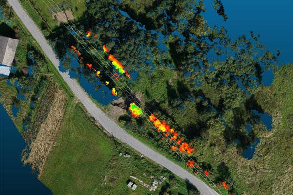Inwentaryzacja linii energetycznych z wykorzystaniem drona Birdie firmy FlyTech UAV