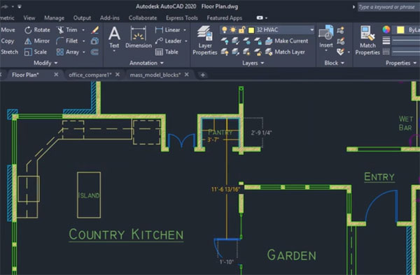 AutoCAD 2020 - Quick Measure