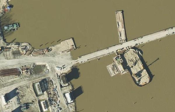 Budowa mostu w ciągu południowej obwodnicy Warszawy