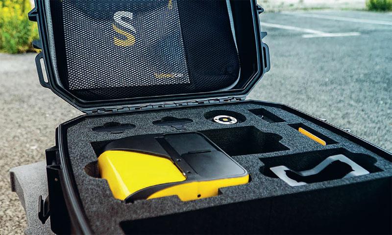 YellowScan Mapper mieści się w kompaktowym plecaku