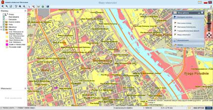 Geoforum Nowy Serwis Mapowy Warszawy