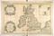 """<b class=pic_title>Alexis Hubert Jaillot """"Atlas Świata"""" Paryż, 1692 r.</b> <br /> <b class=pic_description style='font-size: 12px;'>mapa Wielkiej Brytanii Sansona, Królestwa Anglii, Szkocji i Irlandii</b> <br /> <b class=pic_author > fot. Archiwum Główne Akt Dawnych, Warszawa</b><br />"""