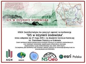 Konferencja ?GIS w inżynierii środowiska?