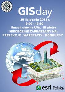 GIS Day na Uniwersytecie Wrocławskim