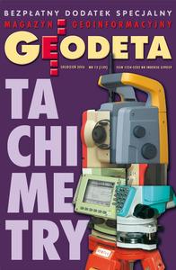 Tachimetry ? grudzień 2006, GEODETA 139