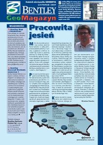 BENTLEY GeoMagazyn - listopad 2007, GEODETA 150