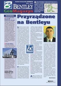 BENTLEY GeoMagazyn - maj 2006, GEODETA 132