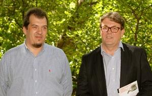Krzysztof Trzaskulski i Mirosław Pawelec (fot. Jerzy Przywara)