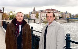 Wojciech Będkowski i Krystian Wachowski (fot. JP)