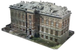 Widok od strony południowo-wschodniej modelu z teksturami nałożonymi w programie Agisoft PhotoScan