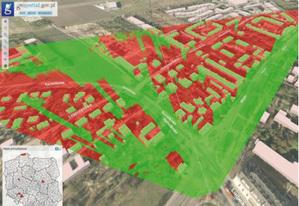 Prototypowa wersja Geoportalu 3D
