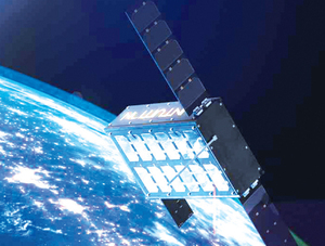 Wizualizacja satelity Intuition 1