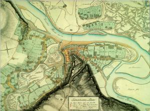 1. Plan sytuacyjny Halicza, 1795 r., Atlas, t.2