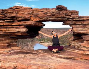 Park Narodowy Kalbarri, Australia Zachodnia, kwiecień 2019 r. (fot. Krzysztof Wojciechowski)