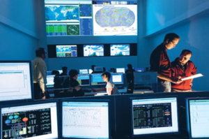 Jedno z centrów dowodzenia Galileo, fot. ESA
