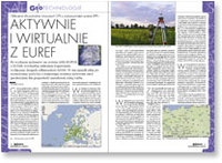 Aktywnie i wirtualnie z EUREF