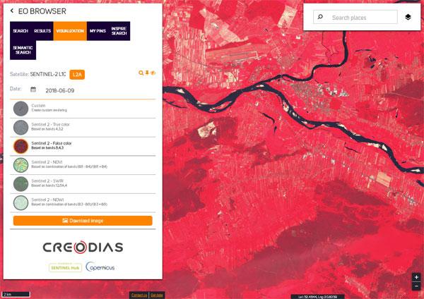 CREODIAS - usługa DIAS firmy Creotech Instruments