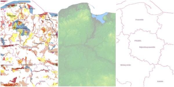 Darmowe dane GIS dla Polski
