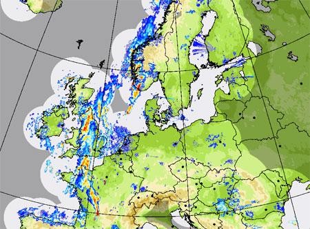 Geoforum Mapa Radarowa Europy Na Pogodynka Pl