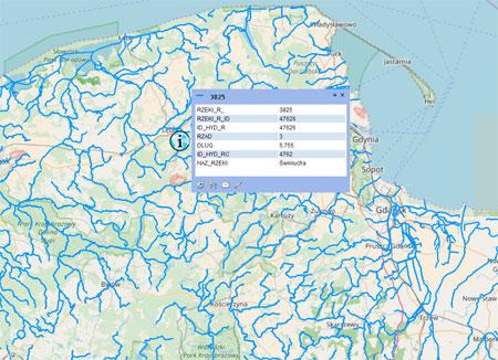 Geoforum Mapa Podzialu Hydrograficznego Jako Dane Publiczne