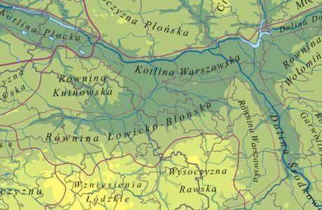 Geoforum Uzgodnione Regiony Geograficzne Wkrótce Jako Warstwa Gis