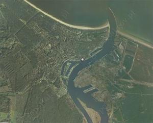 Nowa granica portu morskiego w Świnoujściu  <br /> fot. geoportal.gov.pl