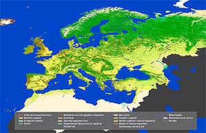 Mapa pokrycia terenu w 9 miesięcy