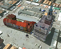 Zrób model 3D dla Poznania <br /> fot. Google Earth