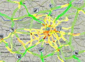 Emapi pokazuje sytuację na drogach
