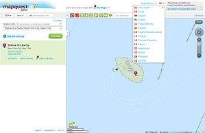 Aktualizacja MapQuest co 15 minut