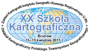 Zapowiedź XX Szkoły Kartograficznej