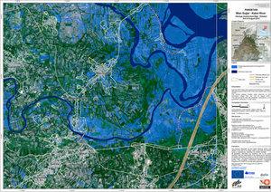 SAFER w 2010  <br /> fot. mapa z powodzi w Pakistanie
