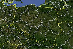 ARiMR zamawia ortofotomapę satelitarną  <br /> fot. Google Earth