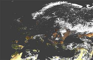 ESA udostępnia obrazy MERIS