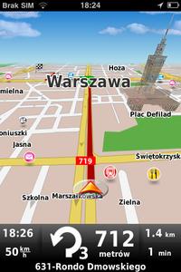MapaMap dla iPhone'a