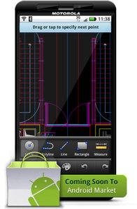 Android pokaże DWG