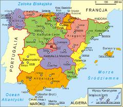 Hiszpania udostępnia dane katastralne <br /> fot. Wikipedia