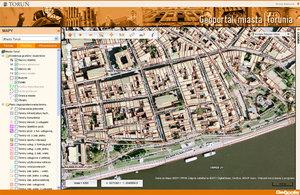 Toruński geoportal po nowemu