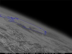 Pył wulkaniczny okiem satelity