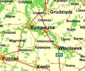 Toruń dyskryminowany w serwisach mapowych  <br /> Mapa.pf.pl