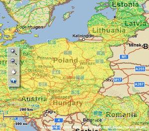 Sprawdź zanieczyszczenia na mapie
