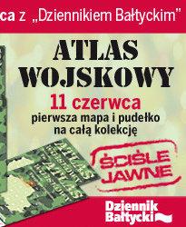 """""""Atlas wojskowy"""" z """"Dziennikiem Bałtyckim"""""""