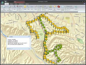GPS w ArcGIS Explorer