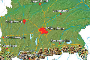 Bawaria uwalnia kolejne dane <br /> fot. Geoportal Bayern